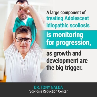 a large component of treating
