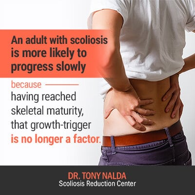 an adults with scoliosis is