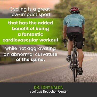 cycling is a great low impact