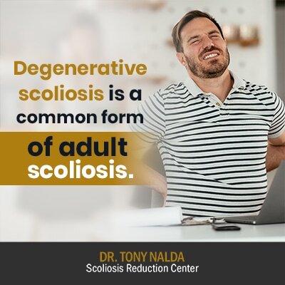 degenerative scoliosis is a common