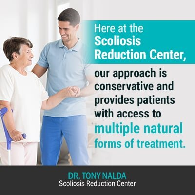 here at the scoliosis reduction center