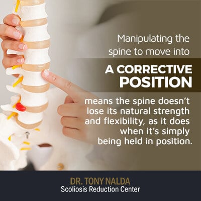 manipulating the spine