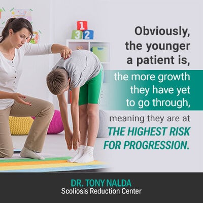obviously the younger a patient is