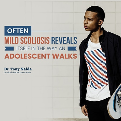 often mild scoliosis reveals small