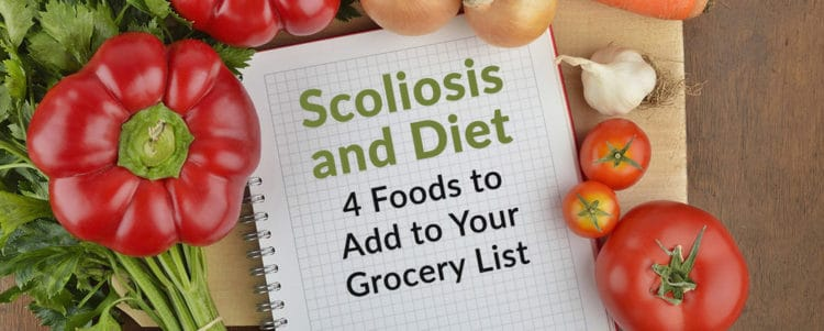 scoliosis and diet foods to add