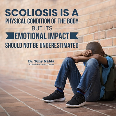 scoliosis is a physical condition small