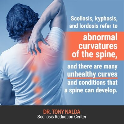 scoliosis kyphosis and lordosis