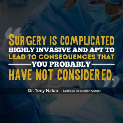 surgery is complicated