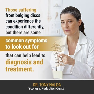 those suffering from bulging discs