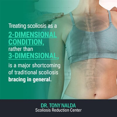 treating scoliosis as