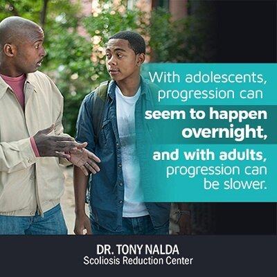 with adolescents progression small