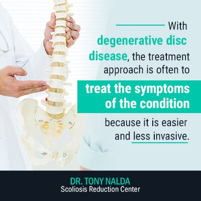 with degenerative disc disease