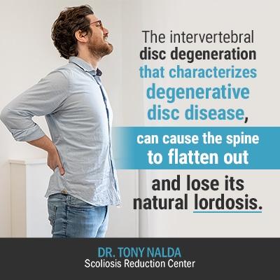 the intervertebral disc degeneration 400