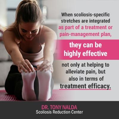 when scoliosis specific stretches are 400