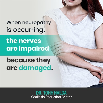 when neuropathy is occurring the 400