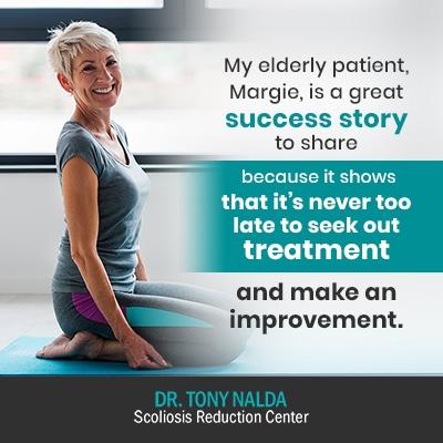 my elderly patient margie is 400