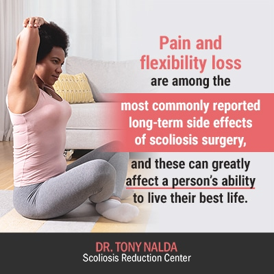pain and flexibility loss are 400