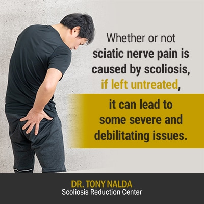 whether or not sciatic nerve 400