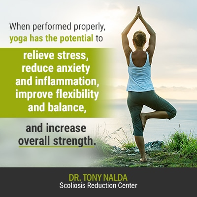 when performed properly yoga has 400
