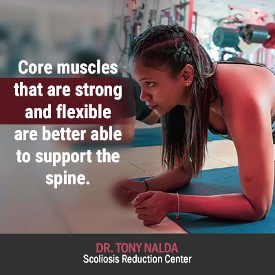 core muscles that are strong 400